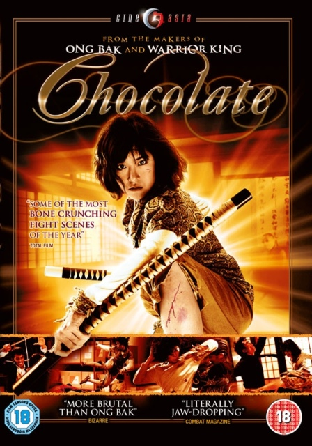 "Prachya Pinkaew ""Chocolate"" poster"