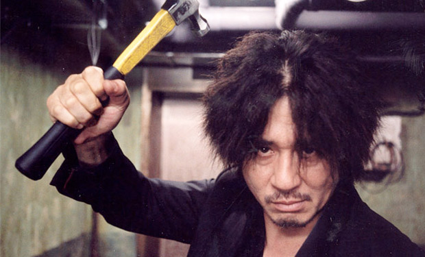 "Iconic ultra-violence image in Park Chan-Wook's ""Oldboy"""