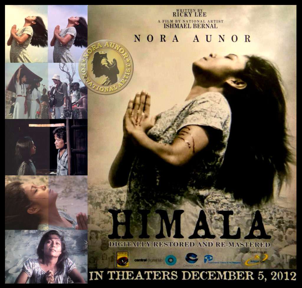 "movie himala by ishmael bernal essay Jorge began to call it an anti-bio, and sporadically wrote essays that would frame   ""the conversation between national artist for film ishmael bernal and  and  christopher de leon, himala with nora aunor, broken marriage."