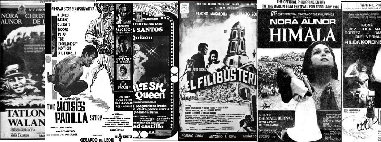 "a look at the history of philippine cinema 63 thoughts on "" top 10 things wrong with mainstream filipino movies "" it's just that i think when it comes to philippine cinema the manila survival guide."