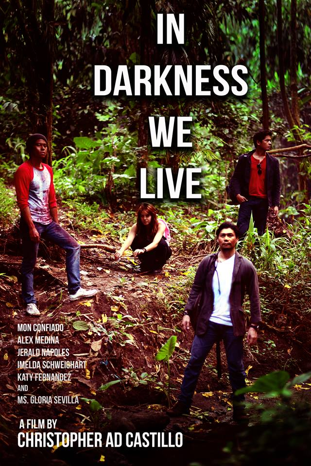 "Christopher Ad Castillo ""In Darkness We Live"" cover"